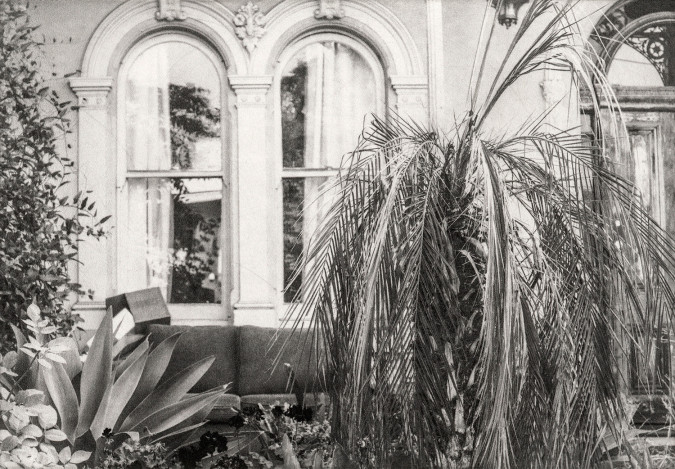 Private Garden, E.A. photogravure