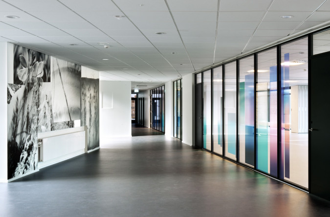 Moving Horizon. Arrival and canteen area. Photo Ib Sørensen