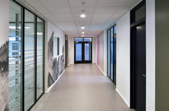 Office south corridor. Photo Ib Sørensen